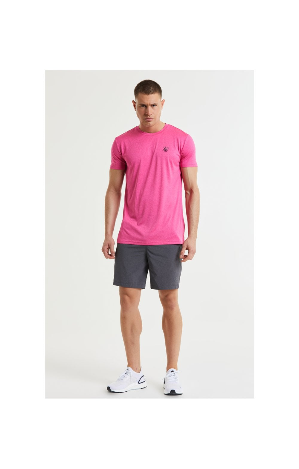 SikSilk Core Poly Tee - Pink (2)