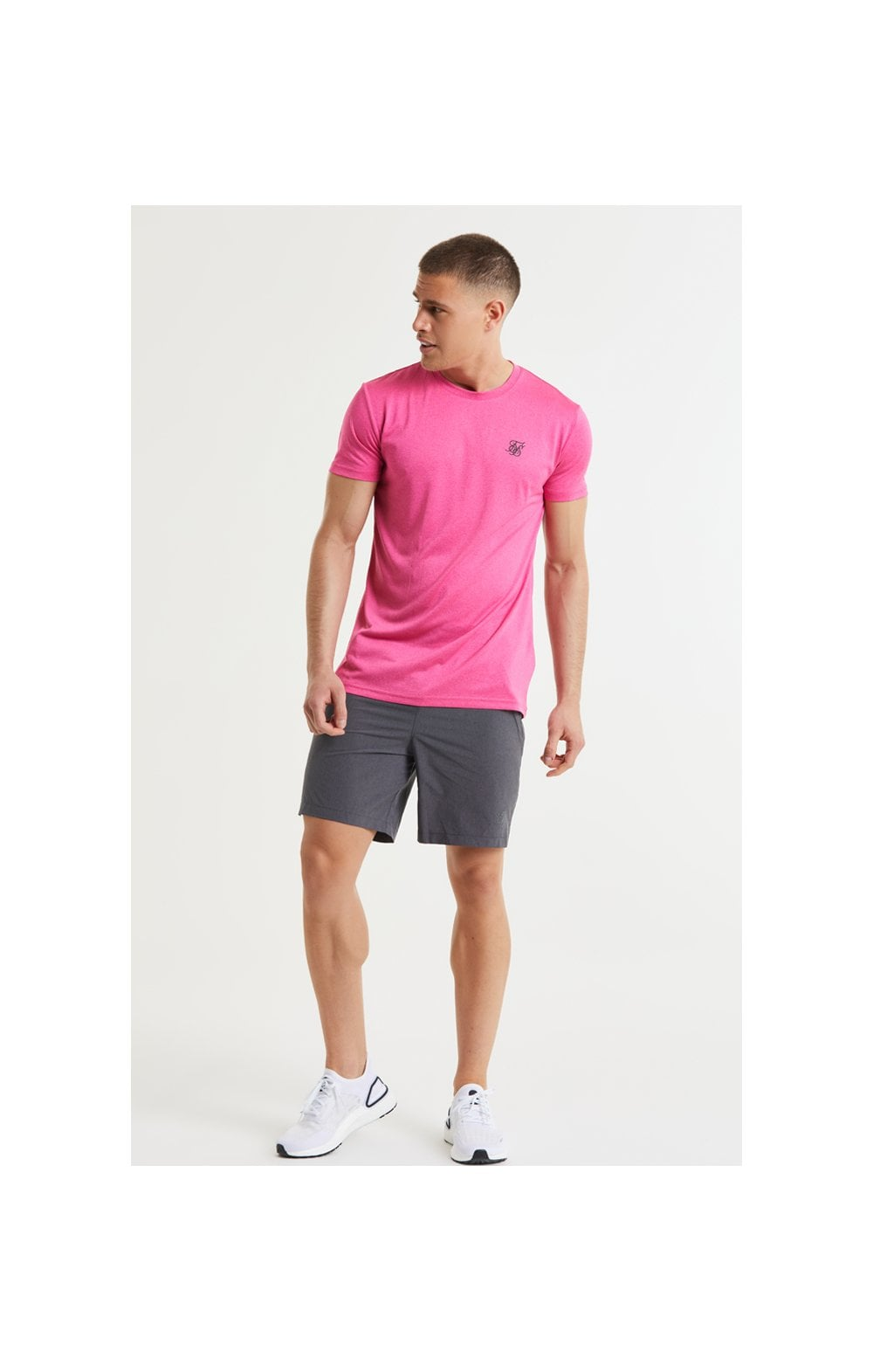 SikSilk Core Poly Tee - Pink (3)