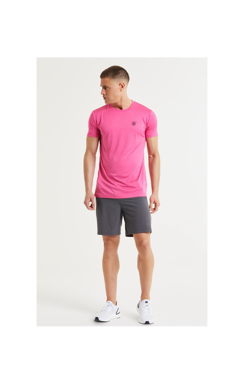 SikSilk Core Poly Tee - Pink (4)