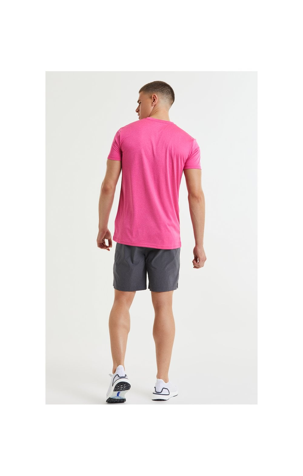 SikSilk Core Poly Tee - Pink (5)
