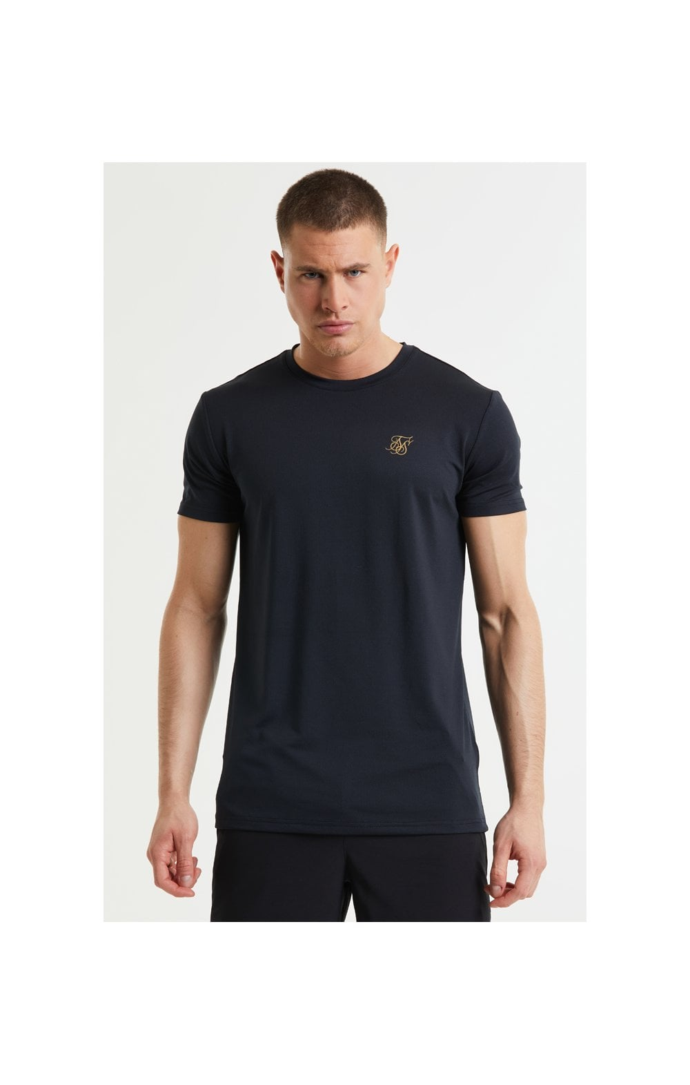 SikSilk Core Poly Tee - Black