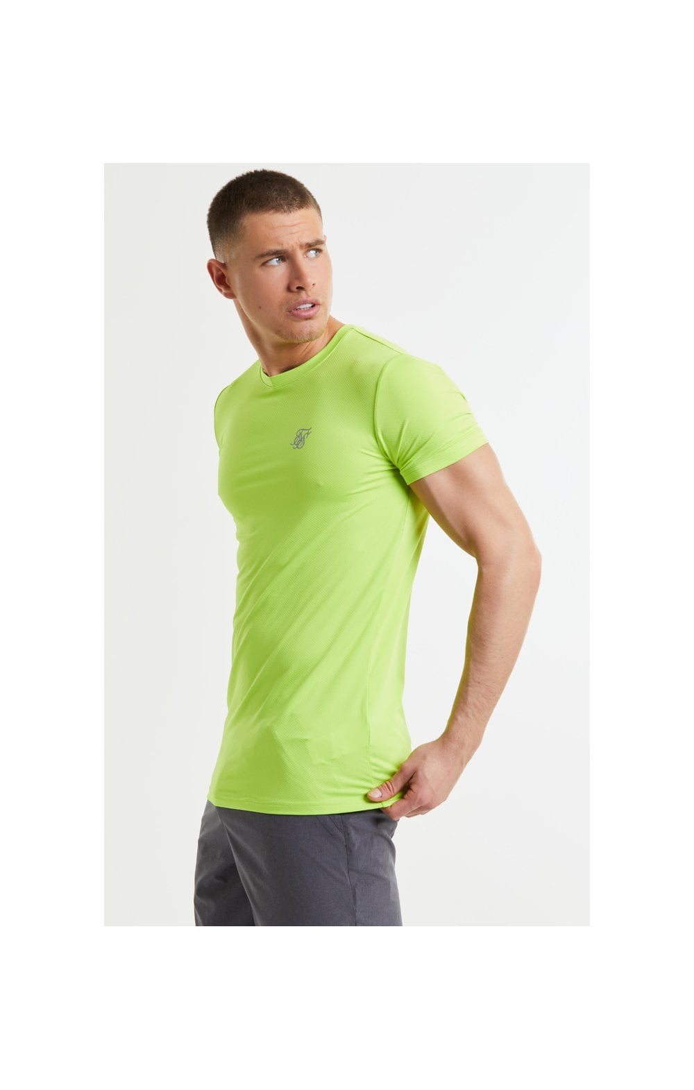 SikSilk Core Poly Tee - Yellow (3)
