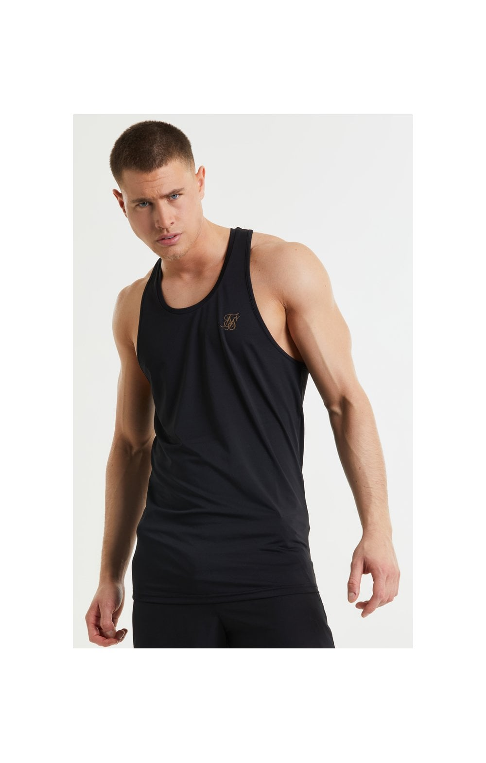 Load image into Gallery viewer, SikSilk Pressure Vest - Black