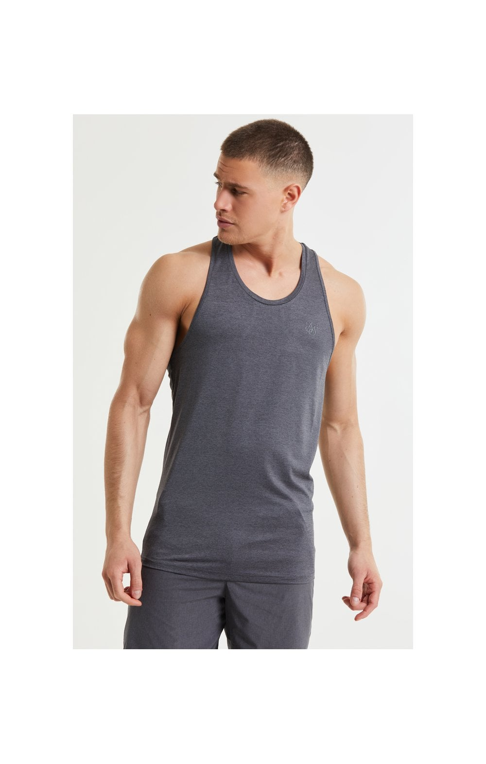 Load image into Gallery viewer, SikSilk Pressure Vest - Charcoal Marl