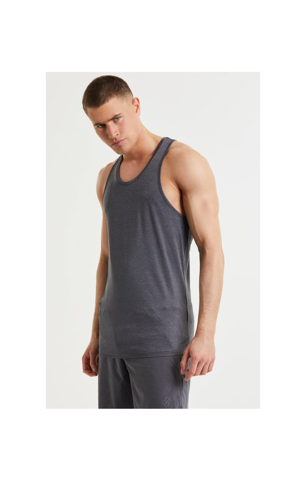 Load image into Gallery viewer, SikSilk Pressure Vest - Charcoal Marl (2)