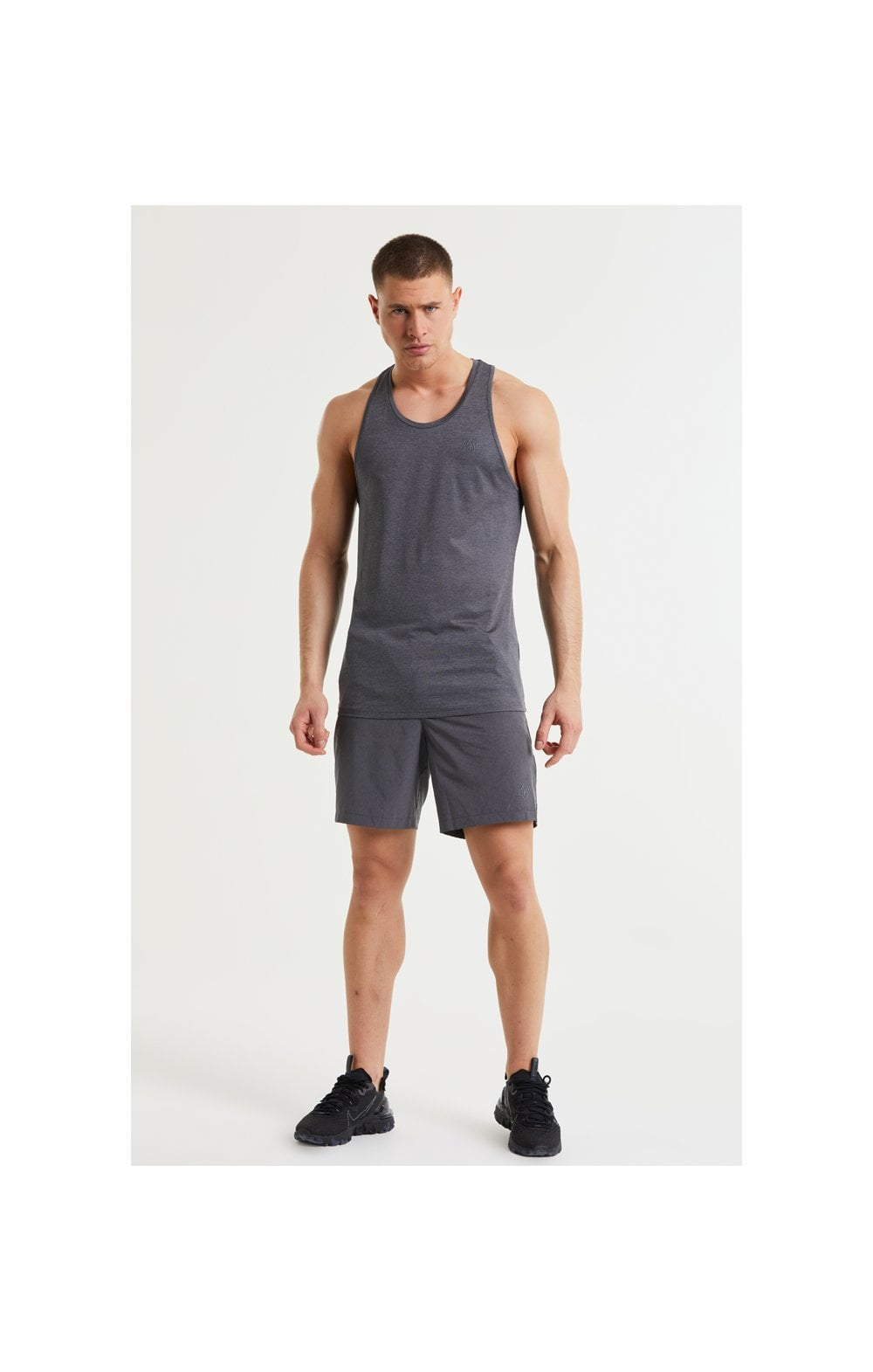Load image into Gallery viewer, SikSilk Pressure Vest - Charcoal Marl (3)