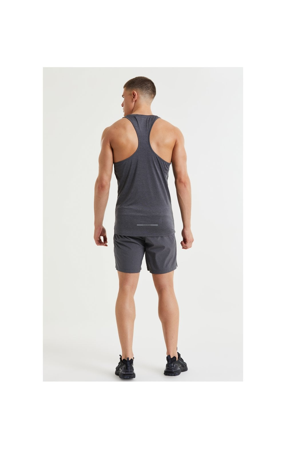Load image into Gallery viewer, SikSilk Pressure Vest - Charcoal Marl (5)