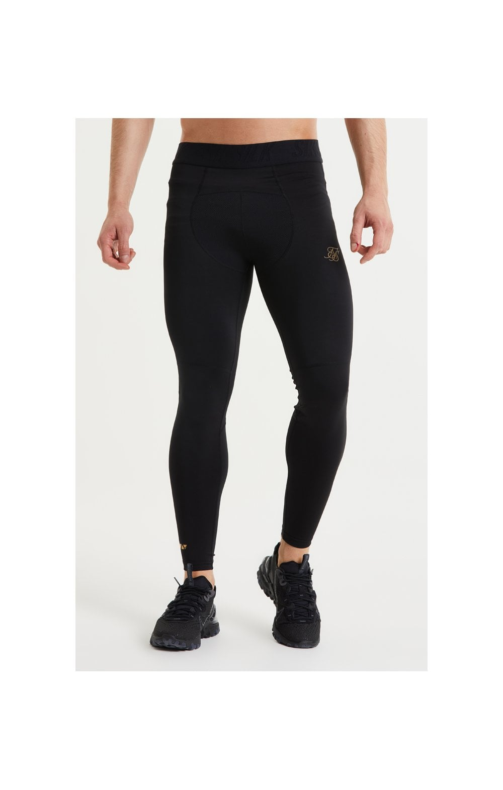 SikSilk Rapid Compression Pants – Black (1)
