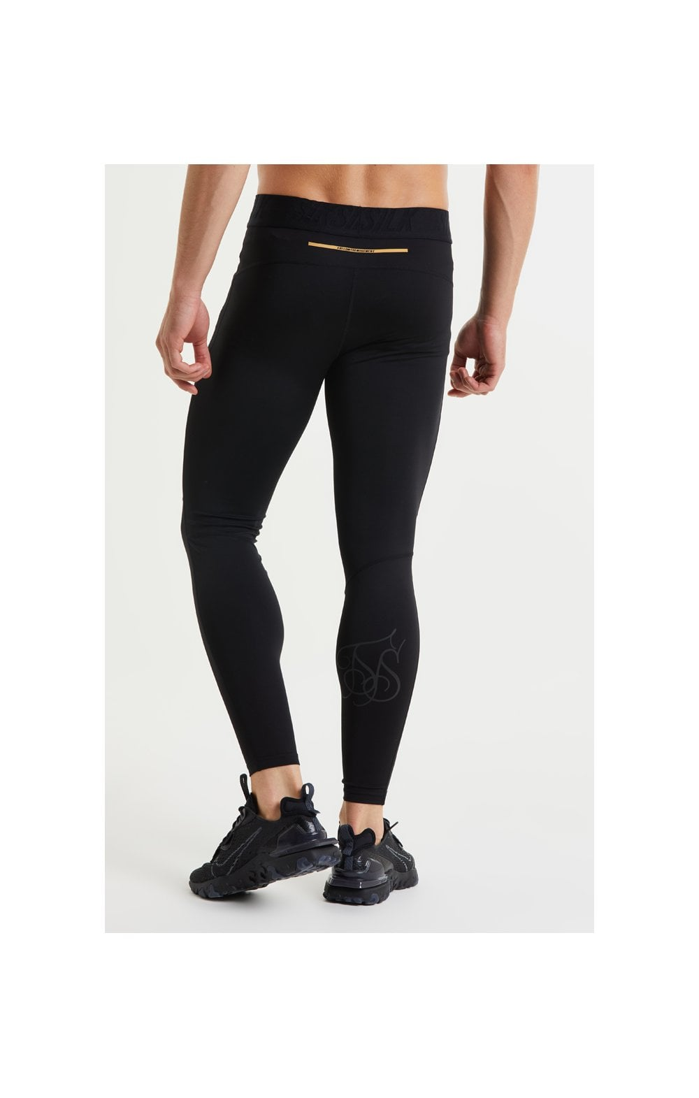 SikSilk Rapid Compression Pants – Black (4)