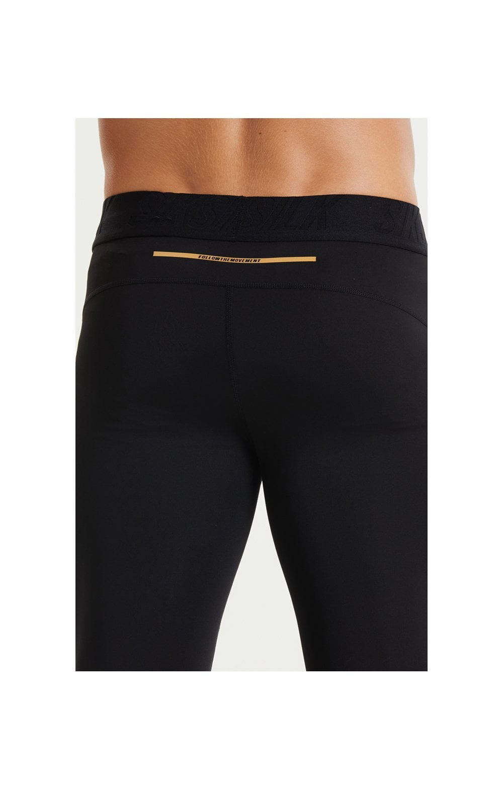 SikSilk Rapid Compression Pants – Black (5)