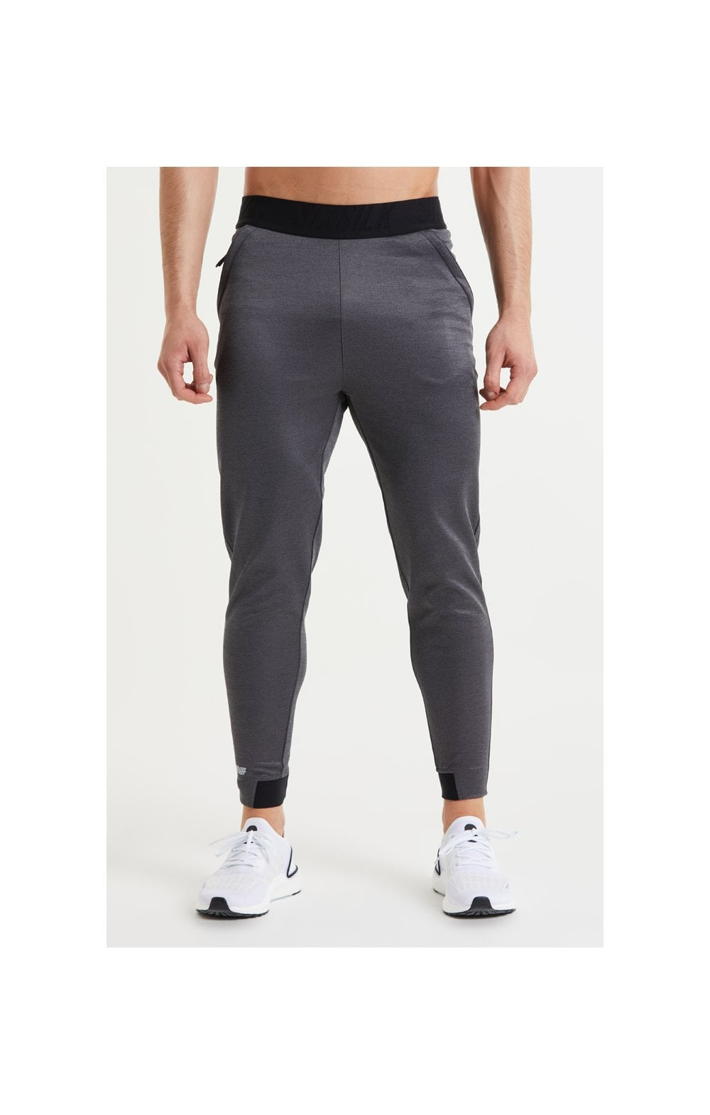 Load image into Gallery viewer, SikSilk Rapid Pants – Charcoal Marl
