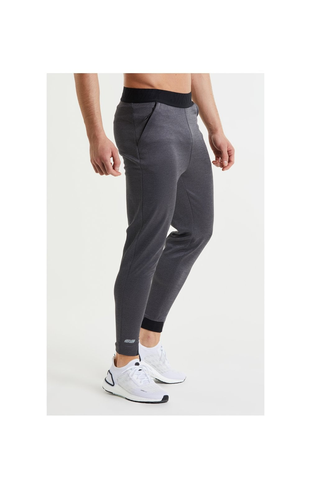 Load image into Gallery viewer, SikSilk Rapid Pants – Charcoal Marl (2)