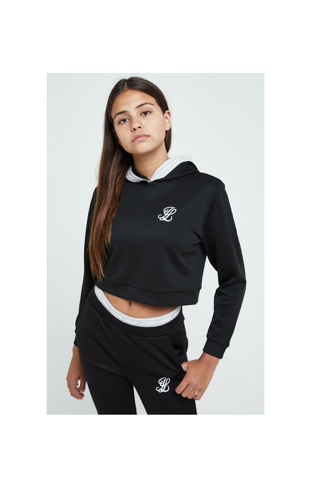 Illusive London Tape Track Top - Black