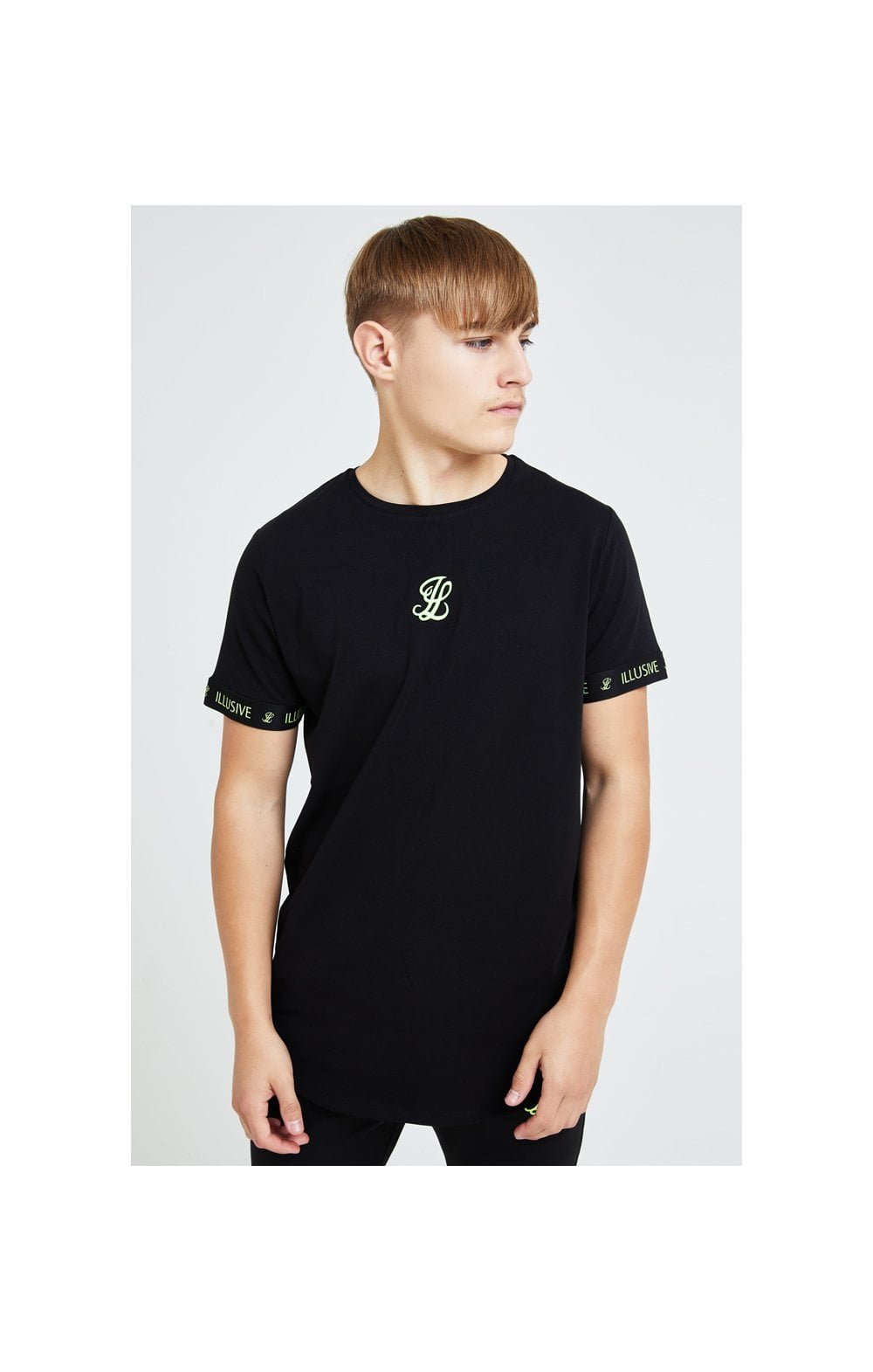Illusive London Element Tech Tee - Black & Green