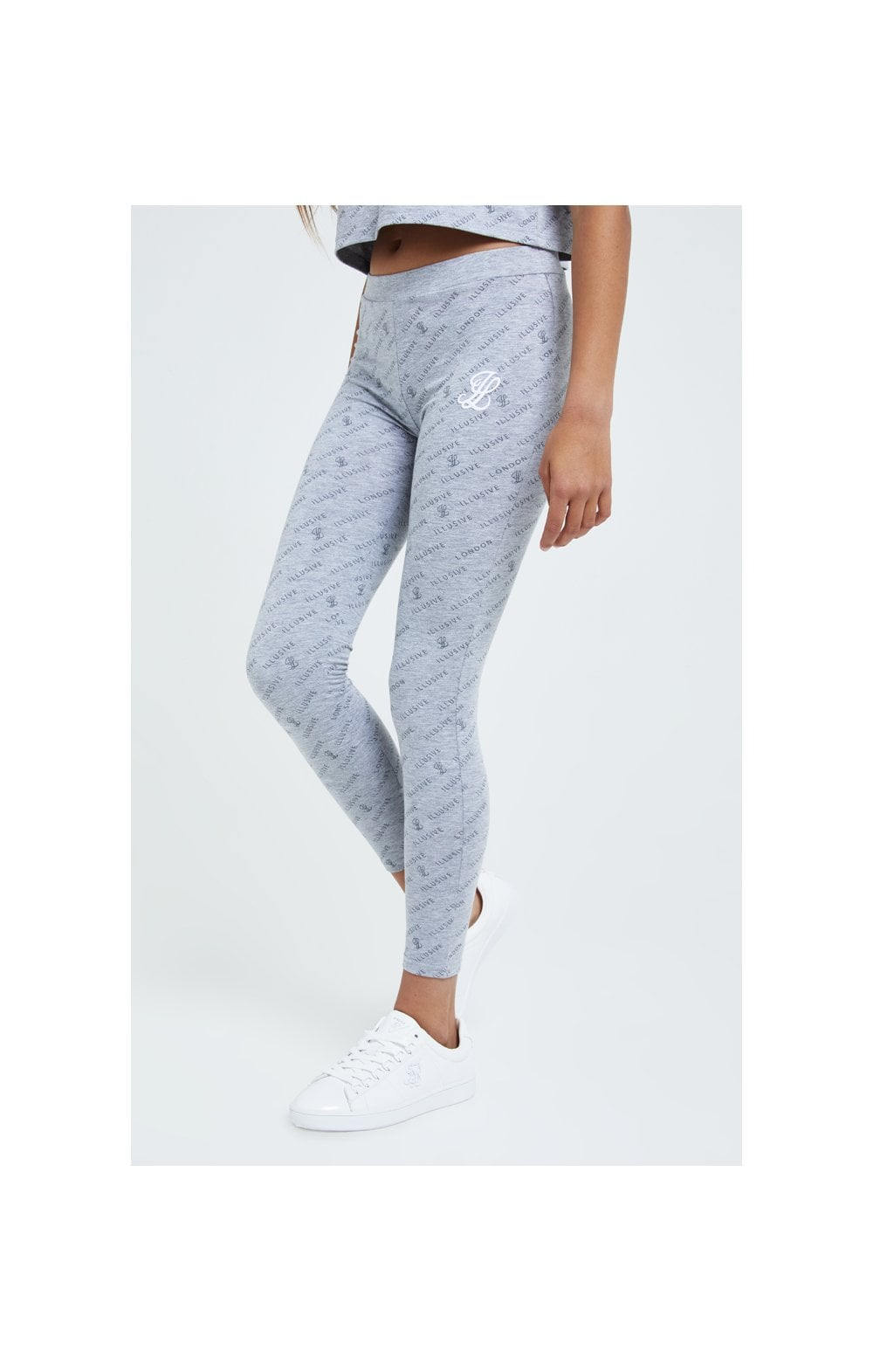 Illusive London Aop Legging - Grey Marl