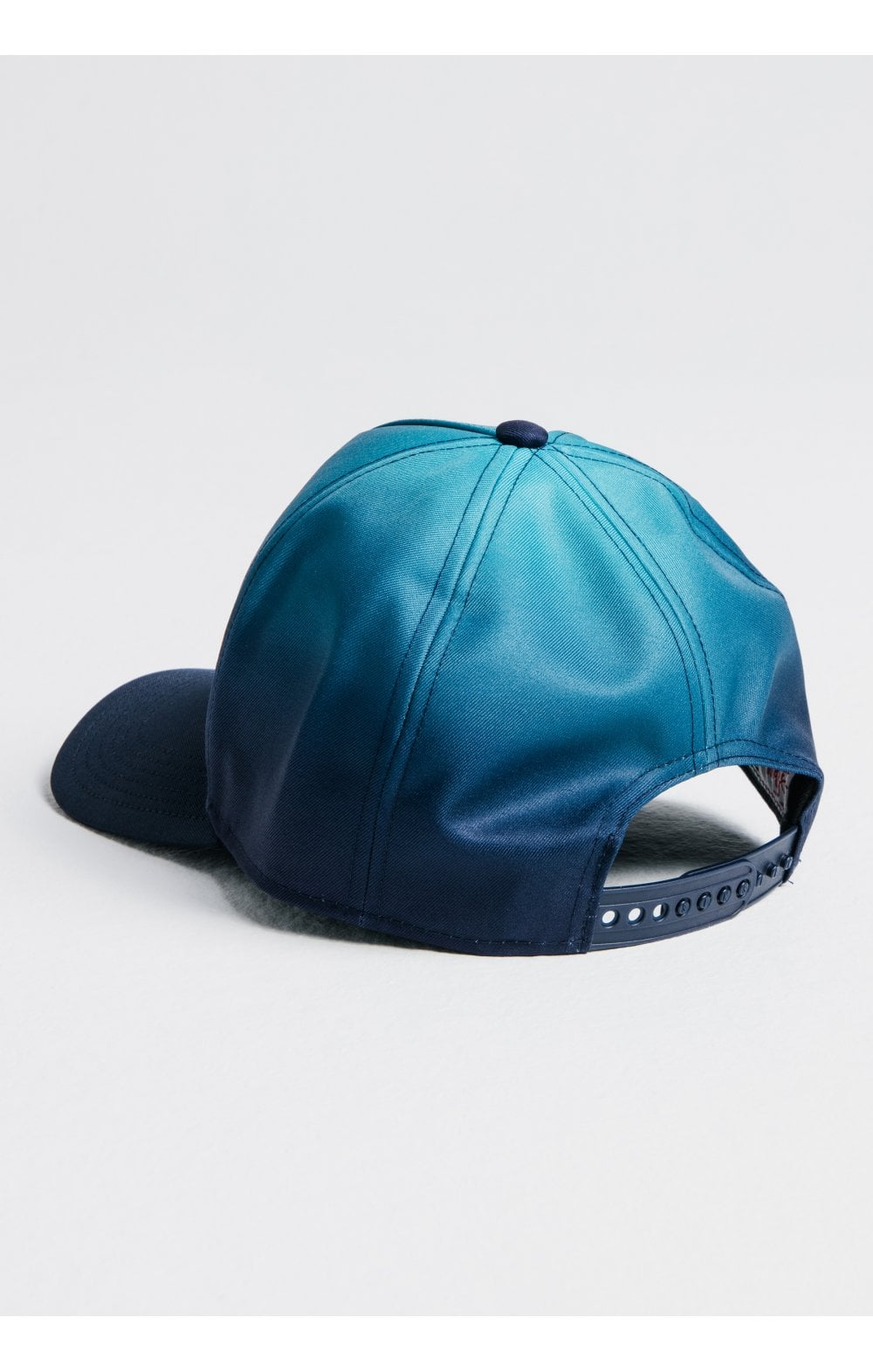 SikSilk Full Fade Trucker - Teal & Blue (1)