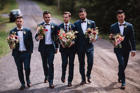 Wedding Ties for Men Made in Montreal | Nathon Kong