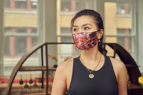 Fashionable Limited Edition Silk Face Mask Made in Quebec | Nathon Kong