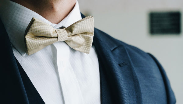 Groom Clip on Bow Tie | Nathon Kong