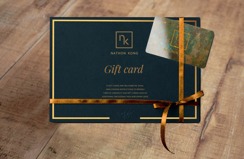 Gift Card Idea for Men Silk Fashion Accessories | Nathon Kong