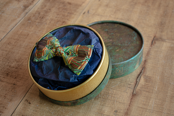 Art by BM1 | Silk Bow Tie with gift box | Nathon Kong