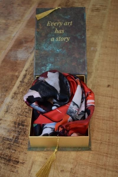 Giftbox Scarf | Luxury Silk Men's Accessories | Nathon Kong