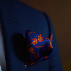 Silk Pocket Square | Art by FD | Men's Accessories | Nathon Kong