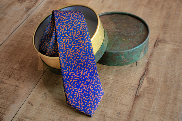 Art by FD | Silk Tie with gift box | Nathon Kong