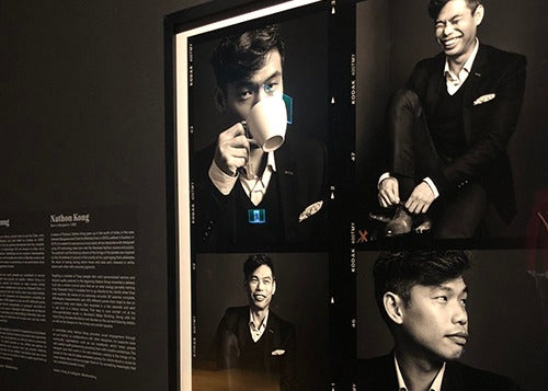 The founder Nathon Kong - Show Exposition at the Musuem | Story Bespoke Tailor | Nathon Kong