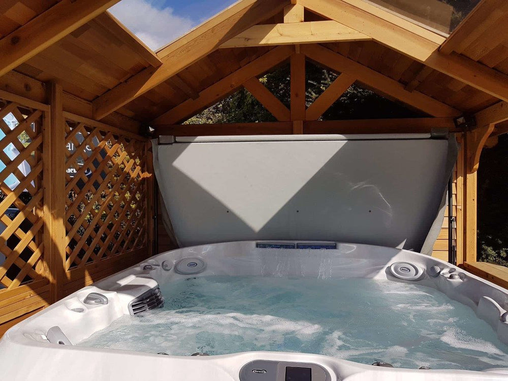 5 hot tub roof ideas | Just Hot Tubs