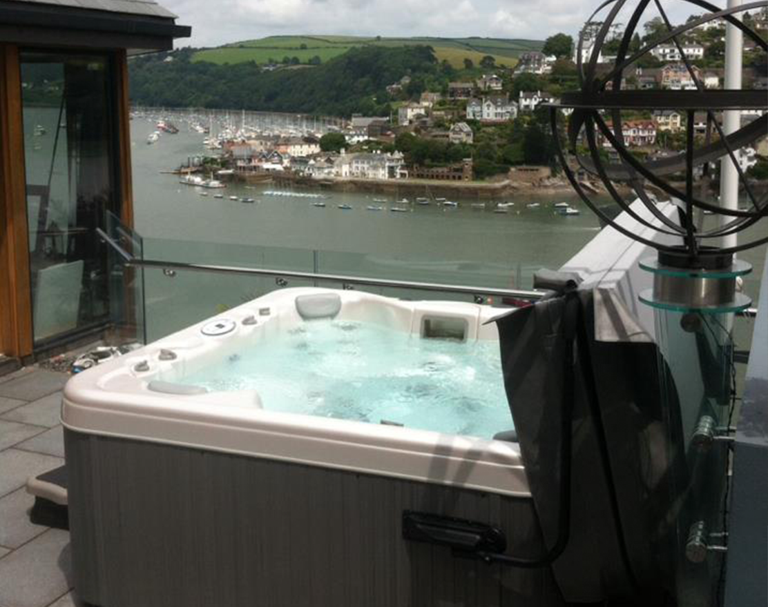 The Dartmoor 4 seat Hot Tub From Just Hot Tubs
