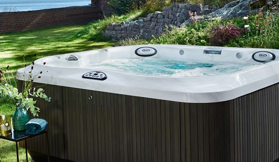 Hot Tub Garden Design