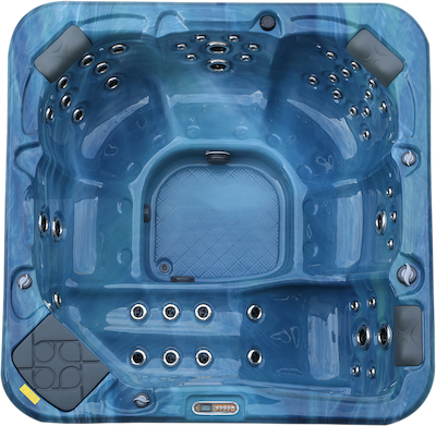 Just Hot Tubs New Forest hot tub top view