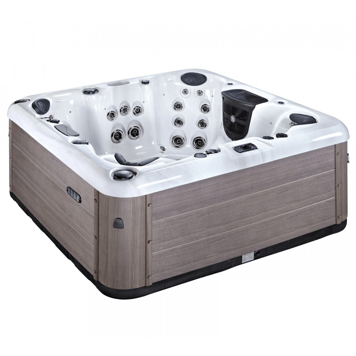 Hellenic Corfu White Just Hot Tubs