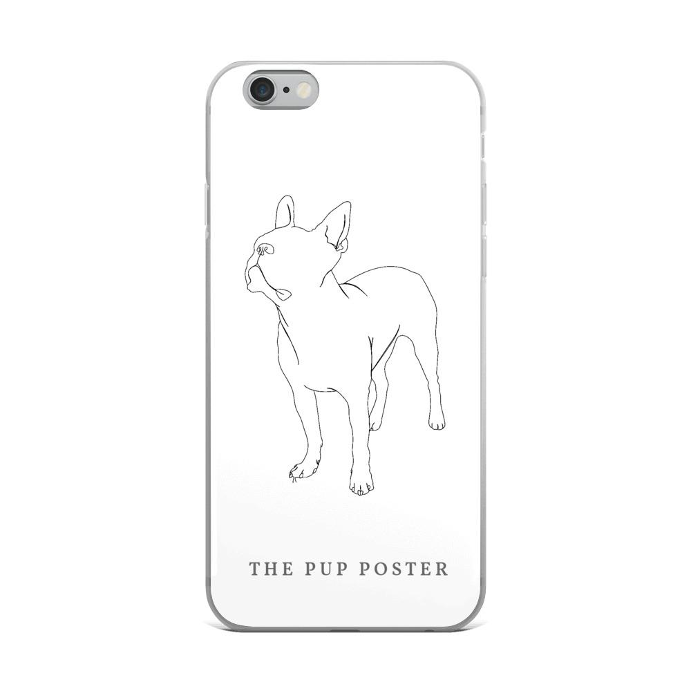 iPhone Cover med Boston Terrier - ThePupPoster