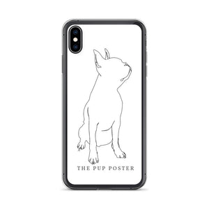 iPhone Cover med Boston Terrier #2 | ThePupPoster