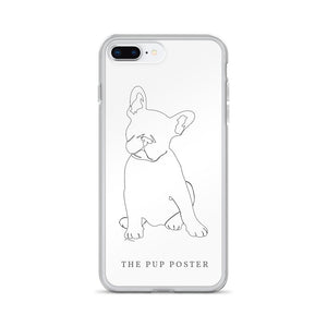 iPhone Cover med Fransk Bulldog | ThePupPoster