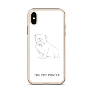 iPhone Cover med Engelsk Bulldog | ThePupPoster