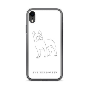 iPhone Cover med Fransk Bulldog #2 - ThePupPoster