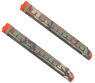 Camo Collection - Nerf Rival Magazine 12-Round Custom Skins & Wraps (2-pack)