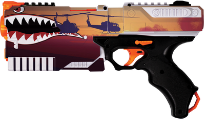 Shark Mouth Collection - Nerf Kronos Custom Skins & Wraps