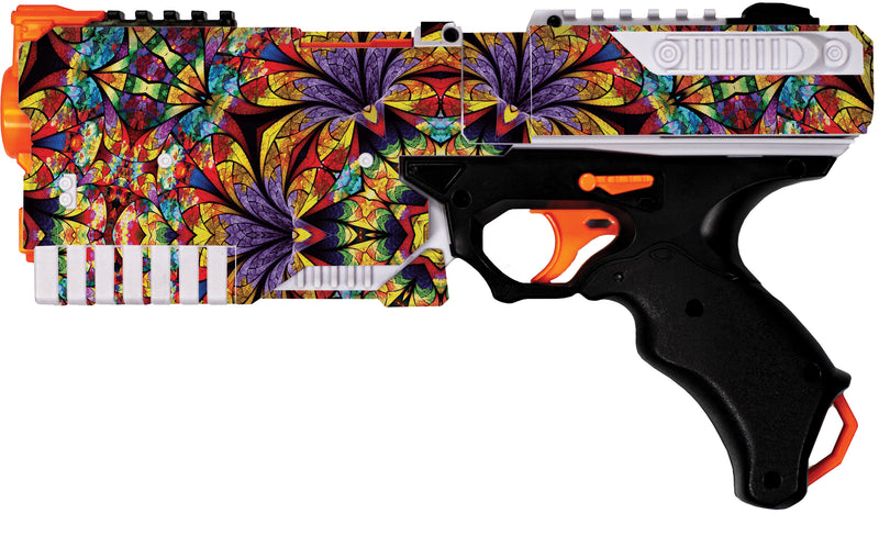 Abstract Collection - Nerf Kronos Custom Skins & Wraps - Nerf Blaster Blastr Wrapz - Custom Modding Sticker Wrap Skins