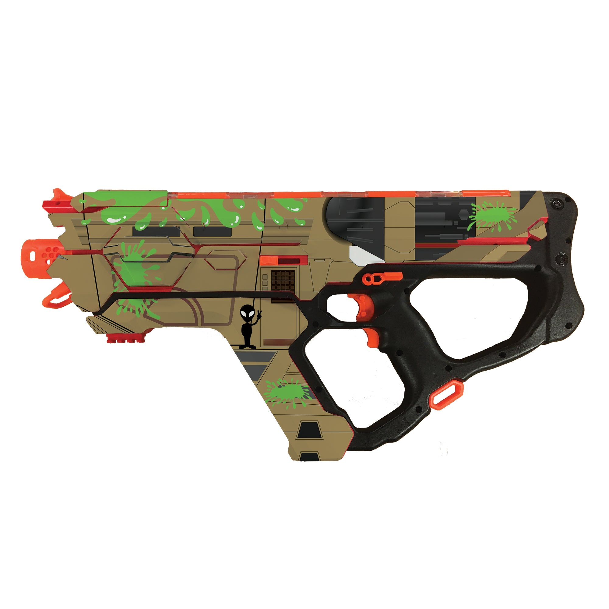 Alien Collection - Nerf Perses MXIX-5000  Custom Skins & Wraps