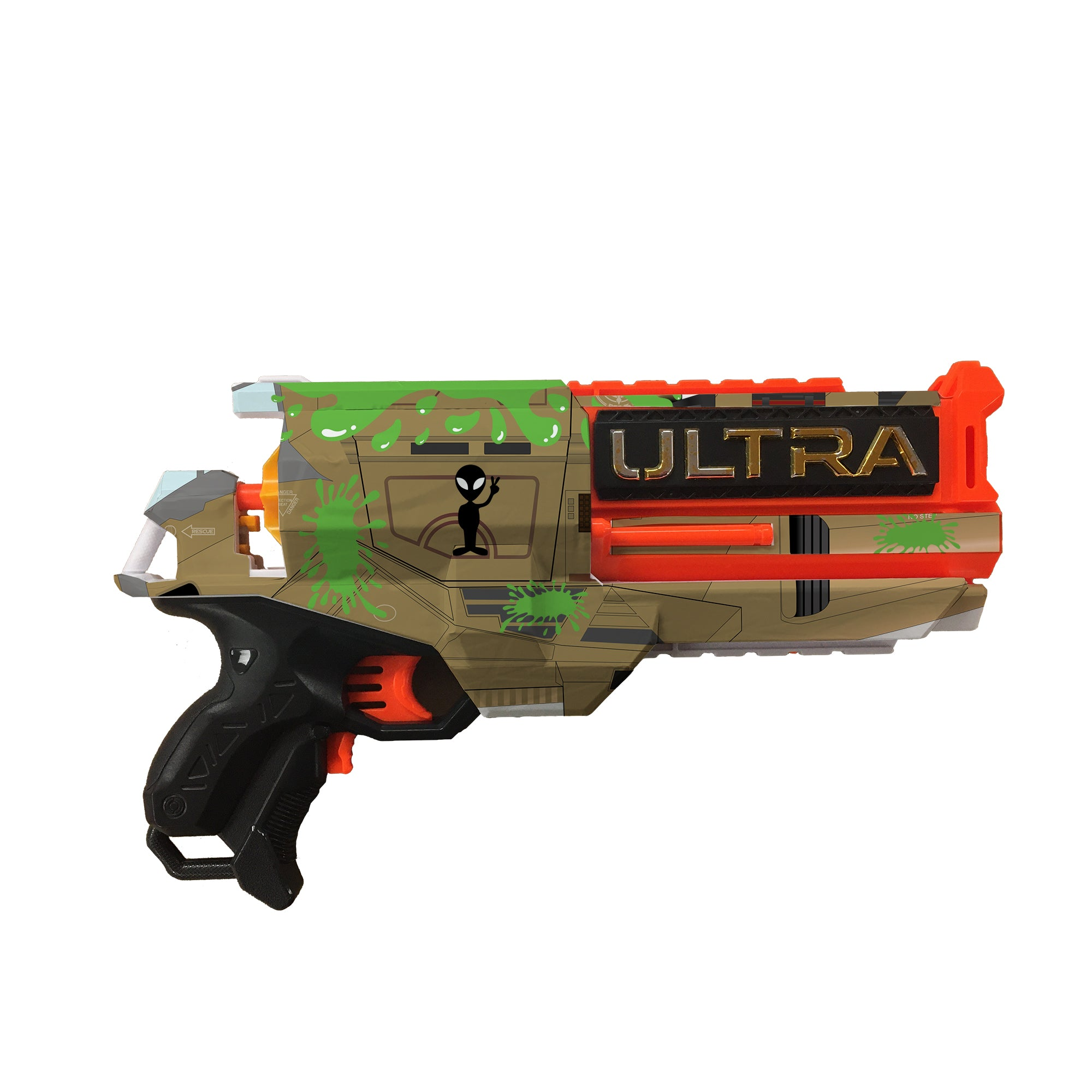 Alien Collection - Nerf Ultra 2 Custom Skins & Wraps