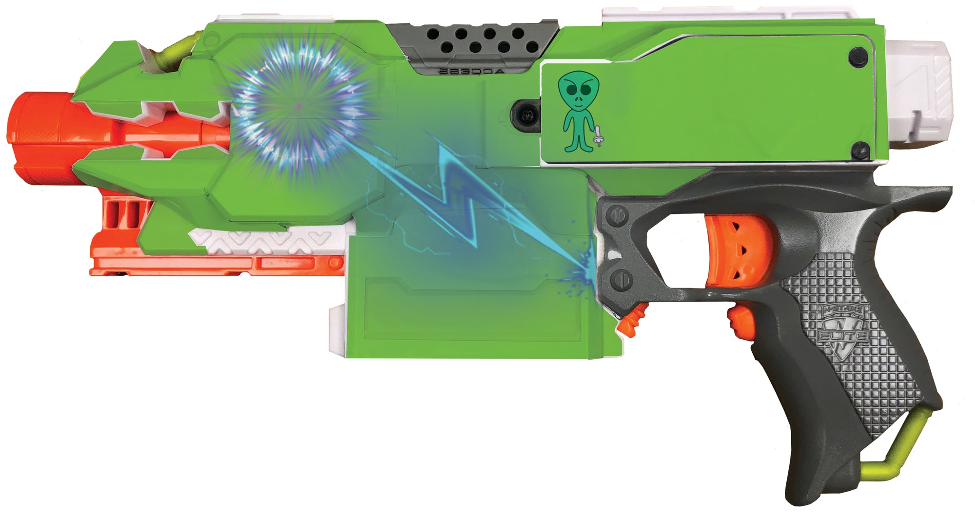 Alien Collection - Nerf Stryfe Custom Skins & Wraps
