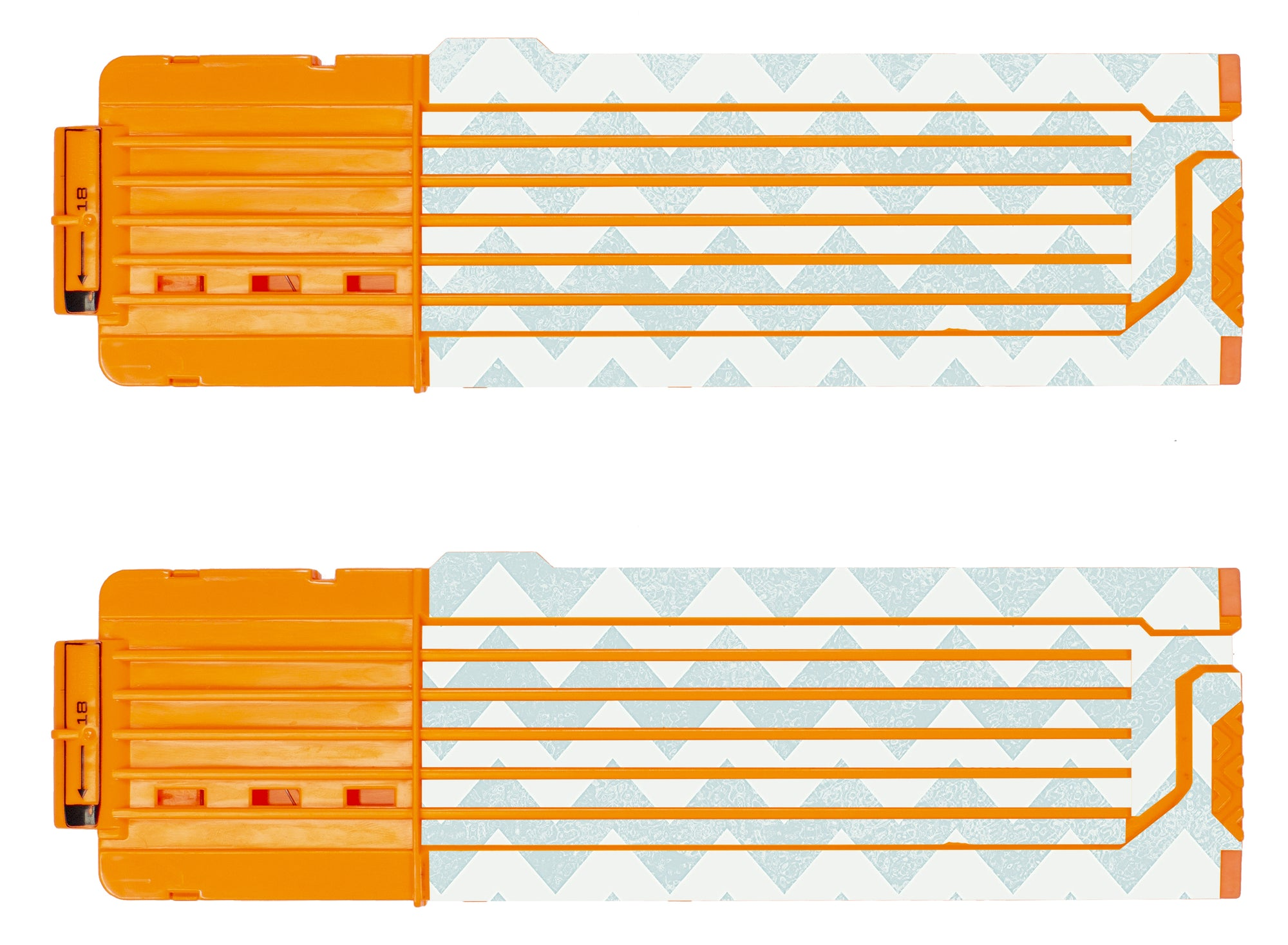 Chevron Collection - Nerf 18-Round Straight Magazine Custom Skins & Wraps (2-pack)