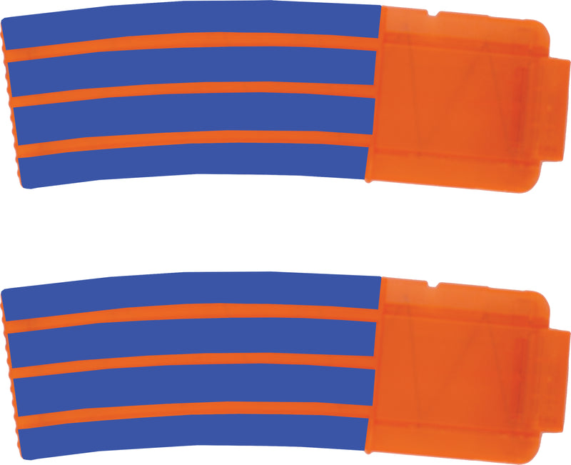 Solid Colors Collection - Nerf Banana Magazine 15-Round Custom Skins & Wraps (2-pack)