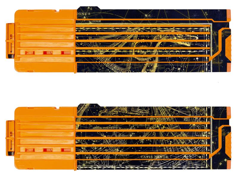 Space Collection - Nerf 18-Round Straight Magazine Custom Skins & Wraps (2-pack)