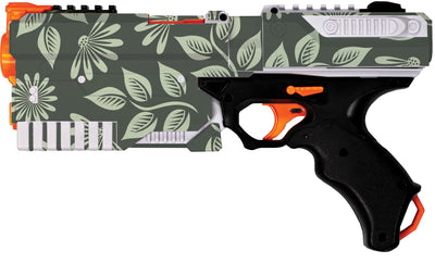 Flowers Collection - Nerf Kronos Custom Skins & Wraps - Nerf Blaster Blastr Wrapz - Custom Modding Sticker Wrap Skins