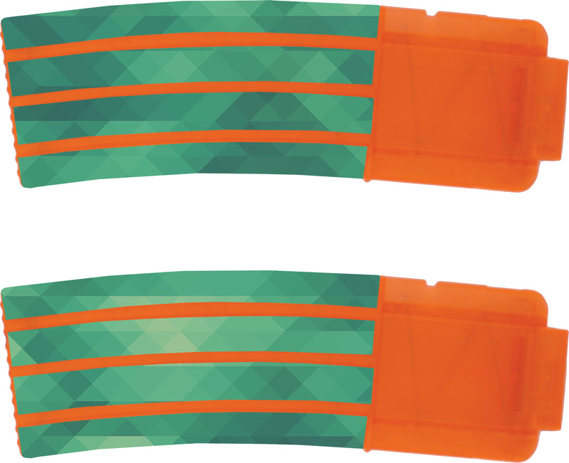 Patterns Collection - Nerf Banana Magazine 15-Round Custom Skins & Wraps (2-pack)